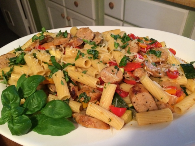 Rigatoni With Sweet Italian Chicken Sausage