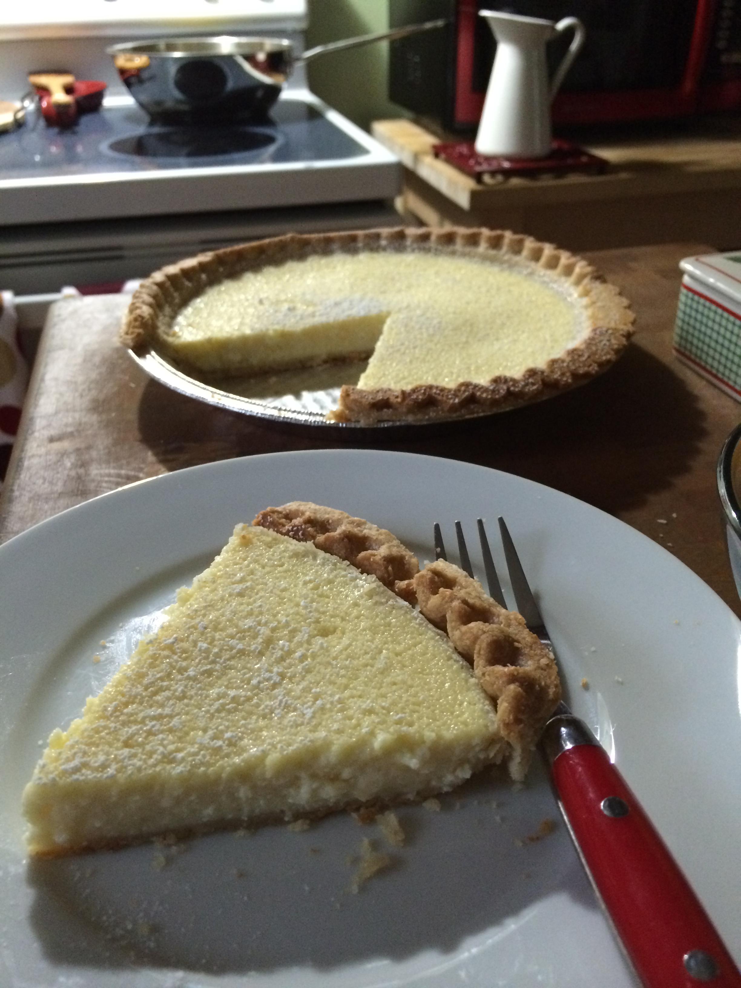 Farmer Cheese Pie Recipe — Dishmaps