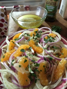 Fennel and Tangelo Salad with a Citrus Vinaigrette