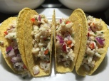 Lump Crab Tacos With Fresno Chilis