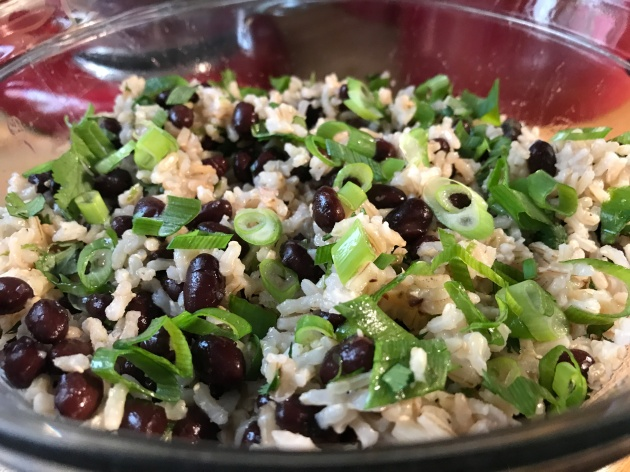 Cilantro-Lime Brown Rice With Black Beans